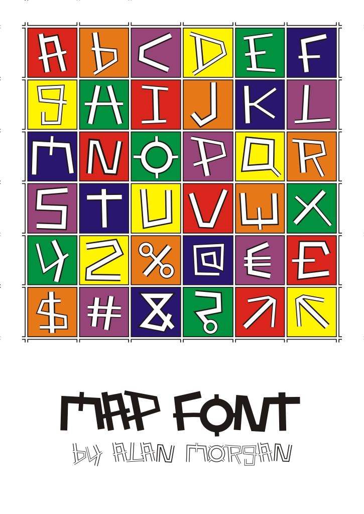 Map Font