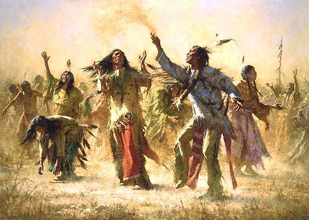 Hope Spring Eternal Native American Ghost Dance