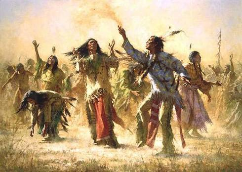 Hope Spring Eternal Native American Ghost Dance