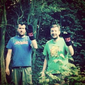 Meet Brian & Ben our woodland cooks.