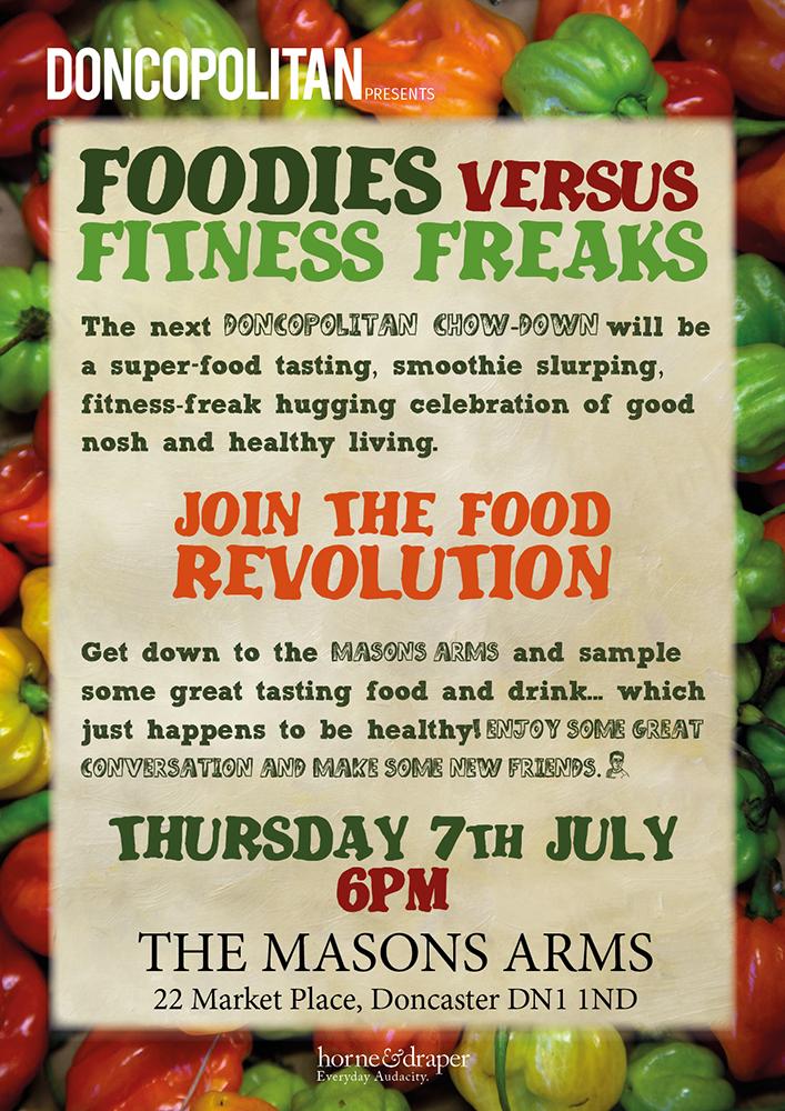Foodies v Fitness Freaks poster