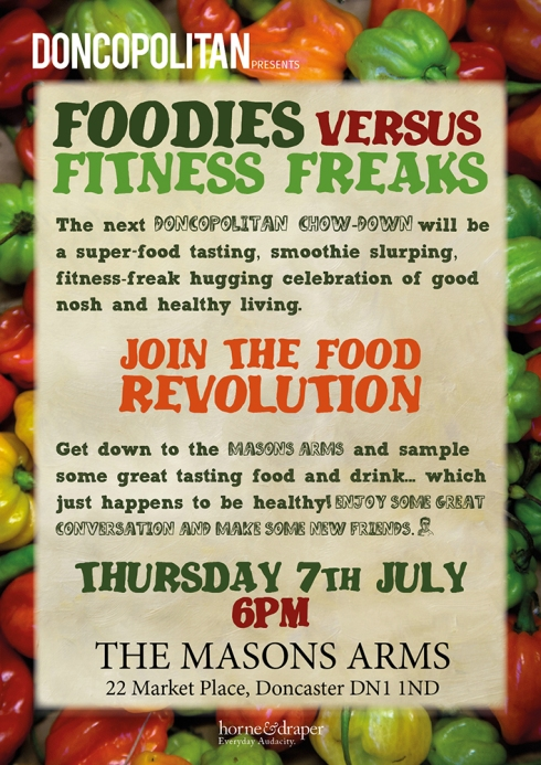 Foodies v Fitness Freaks poster